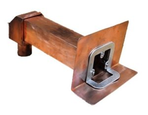 Clamp Tite Copper Box Scupper
